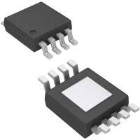 Senzor teploty I2C Microchip Technology MCP9804-E/MS, 2,7 V, MSOP-8