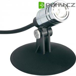 Podvodní LED svítidlo, 2,5 W, černá/chrom