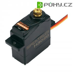 Sub-mikro servo digitální Spektrum H3020 MG Heli, JR konektor