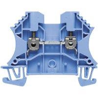 Průchozí svorka řadová Weidmüller WDU 2.5 BL (1020080000), 5,1 mm, modrá