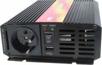 Měnič 12V/230V 300W,čistá sinusovka,CARSPA