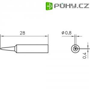Pájecí hrot Weller WXP 65 XNT H, 0,8 mm