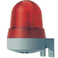 Bzučák s bleskem Werma 423.110.68, 120 x 91,5 x 82,5 mm, 230 V/AC, IP65, červená