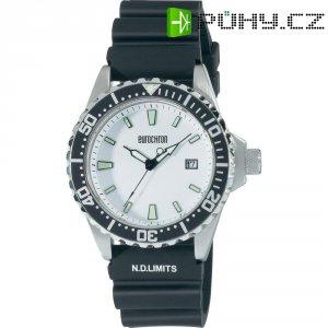 Ručičkové náramkové hodinky Eurochron Diver 7 Quartz, silikonový pásek, černá/bílá