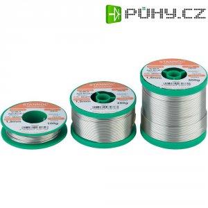 Cínová pájka PBF, Sn95Ag4Cu1, Ø 0,5 mm, 250 g, Stannol HS10 2510