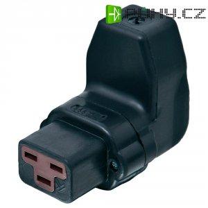 Úhlová síťová IEC zásuvka C19 Kalthoff T70, 250 V, 16 A, černá, 444006