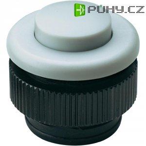 Zvonkové tlačítko Grothe Protact 61032, max. 24 V/1,5 A, bílý plast
