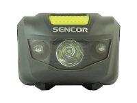 Čelová svítilna 3W+2R 3XAAA SENCOR SLL 55 GREY