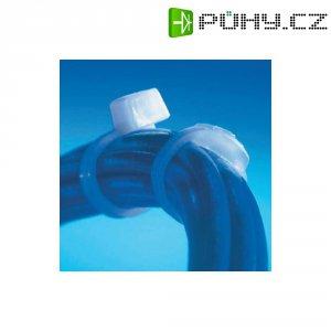 Bezpečnostní stahovací pásky 118 x 2,4 mm, bílé, Thomas & Bett, 100 ks