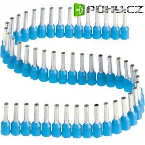 Dutinka v pásce s plastovým límcem Vogt Verbindungstechnik 470208.00050, 0,75 mm², 8 mm, modrá