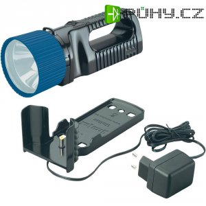 Akumulátorový ruční LED reflektor AccuLux UniLux 5 LED 441081, černá/modrá