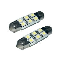 SMD LED sufitka Eufab, 13294, 1 W, S8.5, 36 mm, bílá, 2 ks