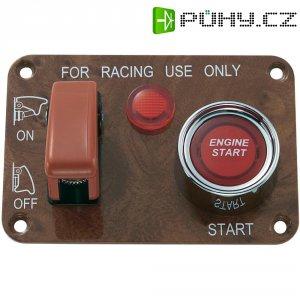 Ovládací panel pro auta SCI R18-Q1A-23B423L3R17100L, 12 V/DC, 50 A, s aretací, bez aretace, 1 ks