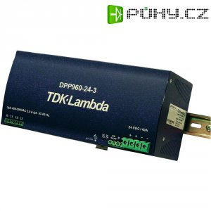 Zdroj na DIN lištu TDK-Lambda DPP960-24-3, 24 V/DC, 40 A