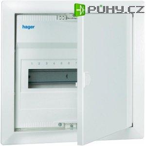 1řadá rozvodnice Hager VH12CN pod omítku, 12 modulů