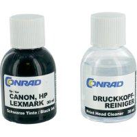 Inkoustové náplně do HP, Canon a Lexmark, 987801, 3x 30 ml, černá