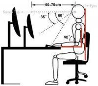 Držák monitoru Xergo Swivel, stolní montáž