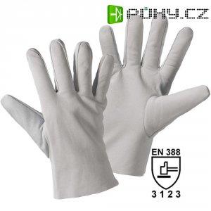 Pracovní kožené rukavice, velikost 10