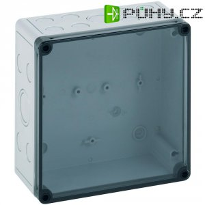 Instalační krabička Spelsberg TK PS 1809-8-tm, (d x š x v) 180 x 94 x 81 mm, polykarbonát, polystyren, šedá, 1 ks