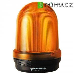 Bleskové světlo Werma, 828.300.55, 24 V/DC, 300 mA, IP65, žlutá