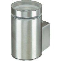 Venkovní nástěnné svítidlo Basetech Parla ESL-4437, GU10, 11 W, stříbrná