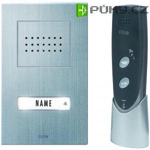Bezdrátový domácí telefon m-e ADF 610, 40598, 1 rodina, 200 m, stříbrná/antracit