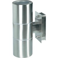 Venkovní nástěnné svítidlo, GU10, max. 2x 35 W, nerez