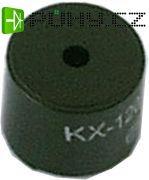 Sirénka 85dB 5V KXG1205C 12x9,5mmmm