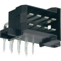 Konektor do DPS 10pól. WAGO 828801-4, zástrčka úhlová, černá