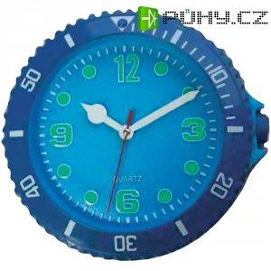Analogové nástěnné hodiny Sygonix, 81769-08, Ø 30 cm, modrá