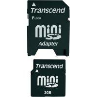 Paměťová karta miniSD Transcend 2GB