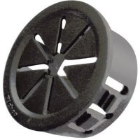 Kabelová průchodka Richco PGSD-11, 11,43 mm, Ø 40,9 mm, černá