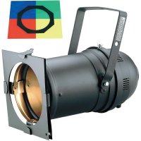 Halogenový reflektor Eurolite PAR 64 Long, 42101001, 500 W, bílá + 4 ks barevných filtrů