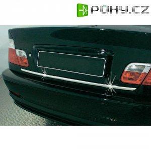 Samolepící chromované ozdoby automobilů 21x3 mm, délka 5 m