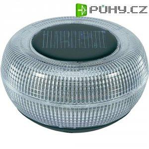 Plovoucí solární LED svítidlo pro osvětlení jezírek, IP67, průhledná