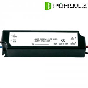 Spínaný zdroj Dehner Elektronik LED 12V24W-IP67, 12 VDC, 20 W