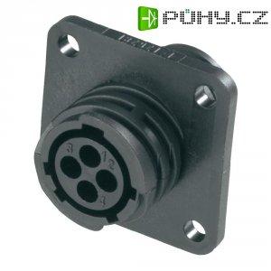 Zásuvka na panel TE Connectivity 182921-1, pro průmyslové použití, max. 600 V/AC