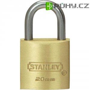 Visací zámek Stanley Solid Brass, 20 mm, standard (81100371401)