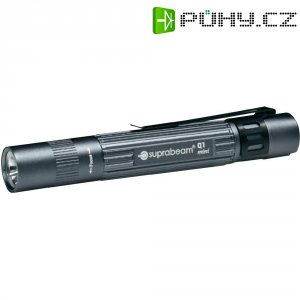 Tužková LED svítilna Suprabeam Q1 Mini, 900.011, šedá