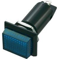 Neonové signalizační světlo SCI, modrá, obdélníkové