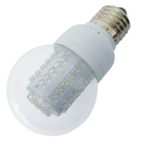 Žárovka LED B60 E27/230V (80LED-H) 4W - bílá
