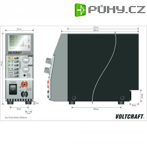 Laboratorní zdroj Voltcraft LSP-1403 Slim-Tower, 0 - 36 V , 0 - 5 A