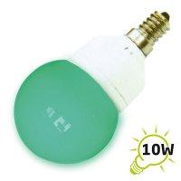 Žárovka LED B60 E14/230V (15x) - zelená