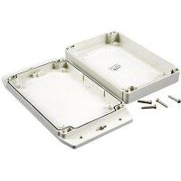 Univerzální pouzdro polykarbonát Hammond Electronics 1555H2F17GY, 180 x 120.79 x 37.2 , světle šedá