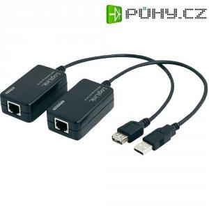USB prodloužení LogiLink, síťový kabel, 60 m