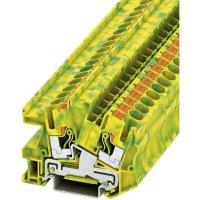 Svorka Push-in Phoenix Contact PITI 6-PE (3213966), s ochranným vodičem, 8,2 mm, zel/žlut