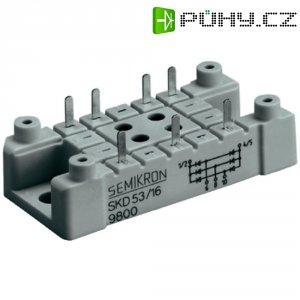 Můstkový usměrňovač 3fázový Semikron SKD83/16, U(RRM) 1600 V, G55