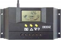 Solární regulátor PWM CM3024Z 12-24V/30A s LCD