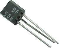 BF506 P 40V/0,03A 0,3W 550MHz TO92