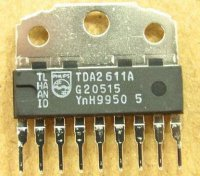 TDA2611A -nf zesilovač 4,5W /8ohm SIP9